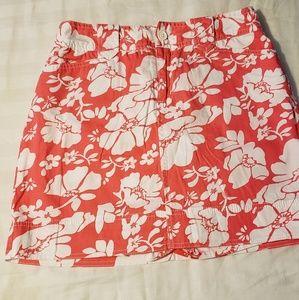 St.johnbays flower skirt.